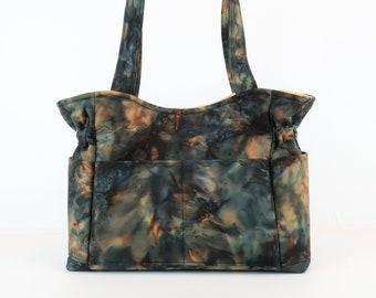Fall Autumn Shoulder Bag, Free Shipping, Buy Any 2, Shoulder Bag Purse, Purse and Bag, Bag and Purses, Fabric Handbag, Diaper Bag, Tote Bag