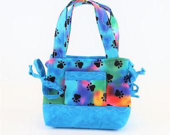 Little Girl Purse, Stocking Stuffer, Girls Purse, Puppy Feet, Girls Gifts, Girls Handbag, Toddler Bag, Girl Accessories, Small Kids Bag