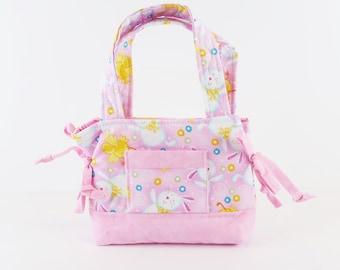 Child Girl Purse, Bunnies Purse, Girls Purse, Toddlers Gifts, Girls Gifts, Girls Handbag, Toddler Bag, Girl Accessories, Small Kids Bag