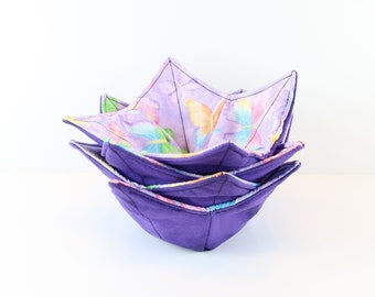 Reg Microwave Bowl Cozy, Free Shipping Buy any 4, Pot Holder, Microwave Bowl, Fruit Bowl, Kitchen Accessory, Gift for Her, Candy Bowl Holder