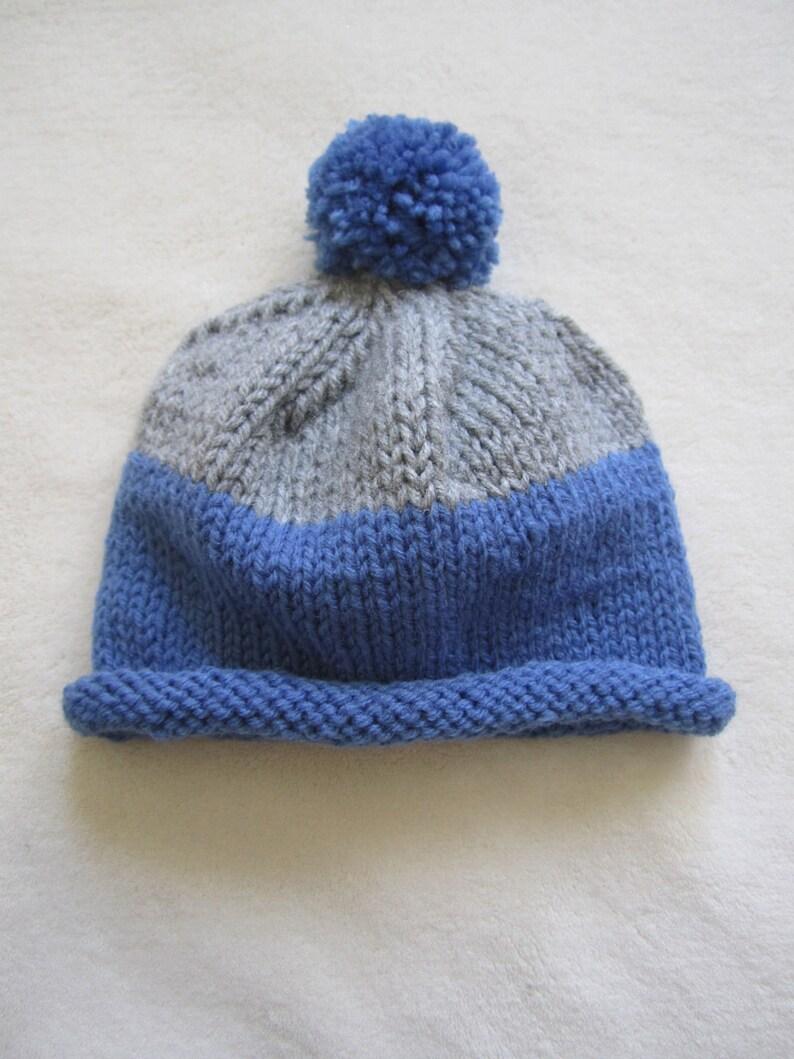2ea827f197923 Gorro azul gris para el niño gorros para recién nacido etsy jpg 794x1059  Gorro azul