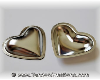 3D Heart cookie molds, set of 12 molds with cookie cutter and recipes