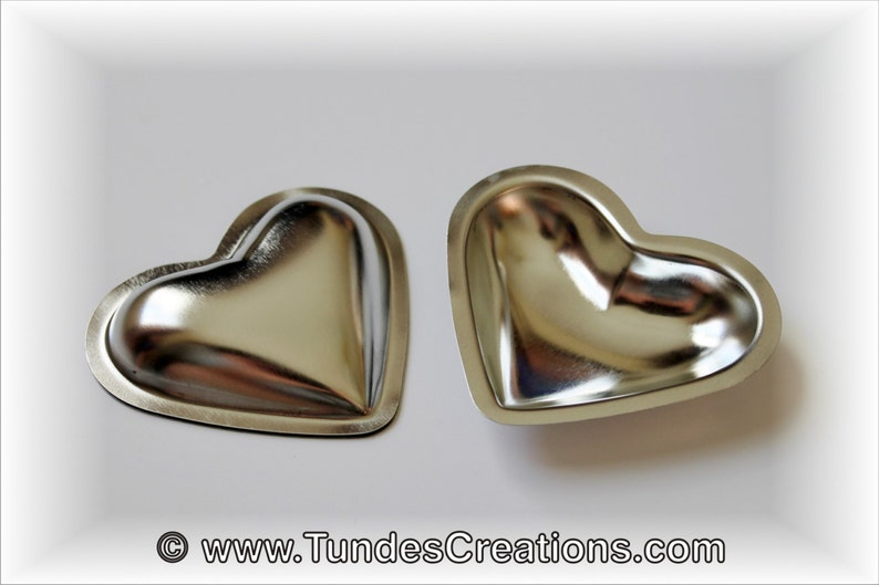 3D Heart cookie molds set of 12 molds with cookie cutter and image 0