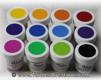 TruColor Gel Paste - 1 LARGE JAR of your choice, Natural food coloring