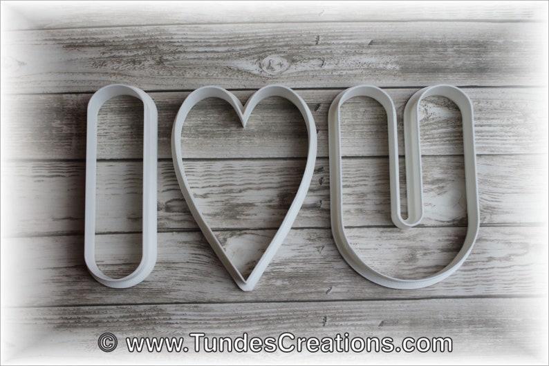 Valentine's cookie cutter set image 0