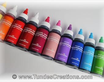 Gel Food Color - Chefmaster Liqua Gel - 2 oz twist cap bottle