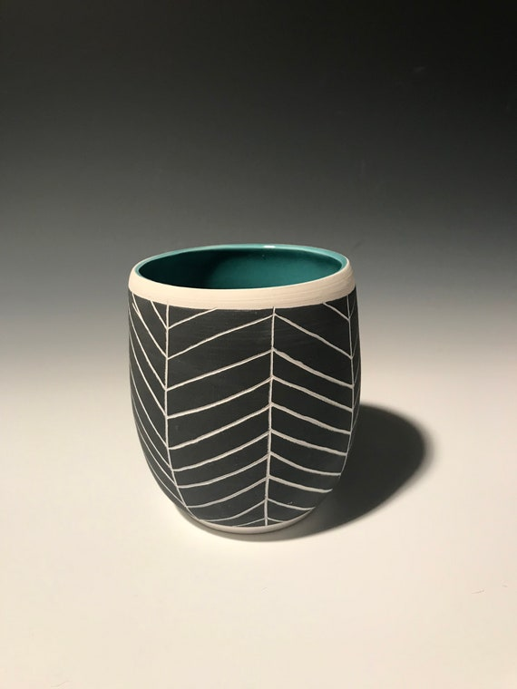 Medium Planter in Turquoise #3