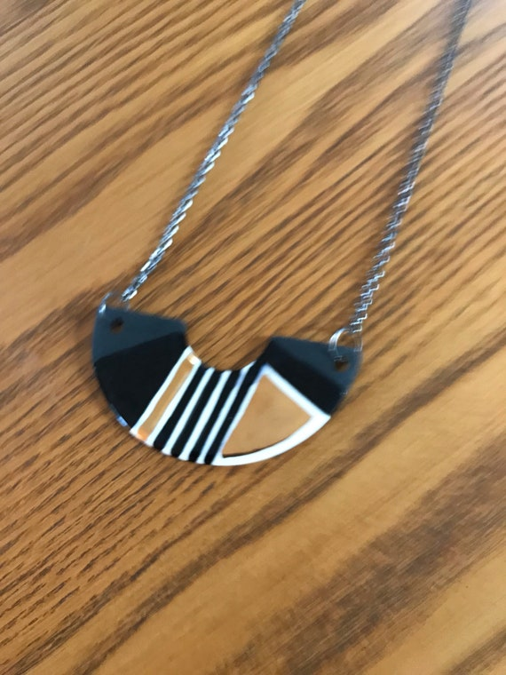 Half moon necklace #5