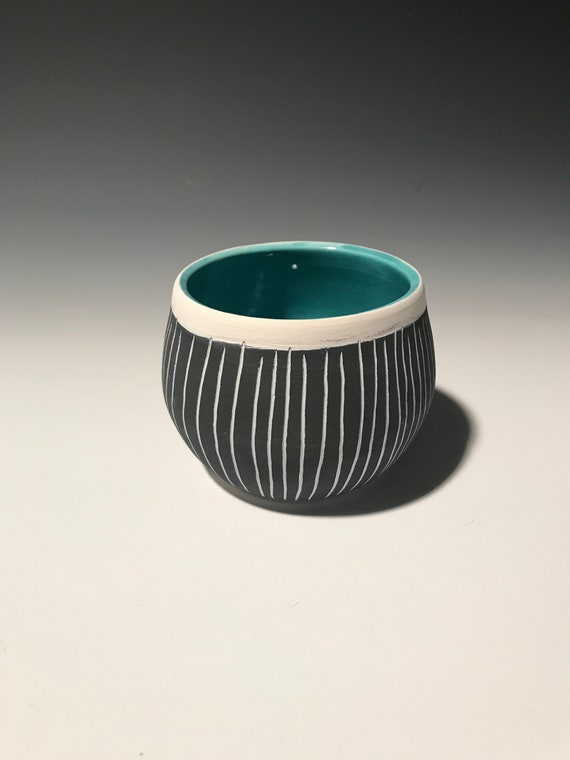 Medium Planter in Turquoise #4
