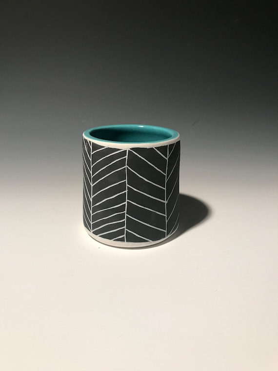 Medium Planter in Turquoise #7