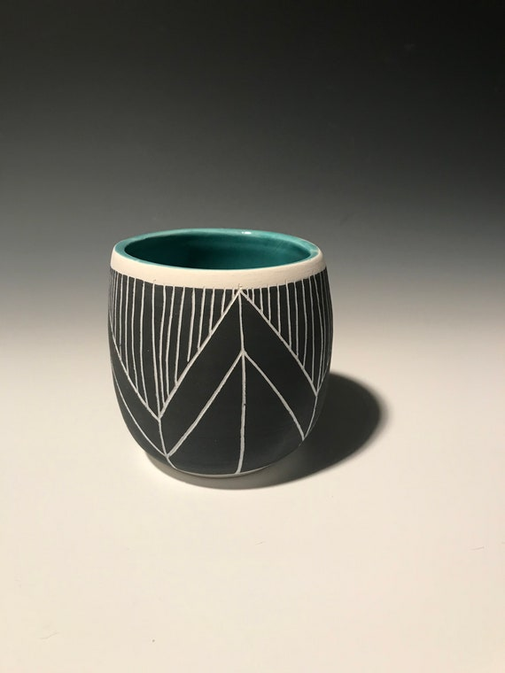 Medium Planter in Turquoise #5