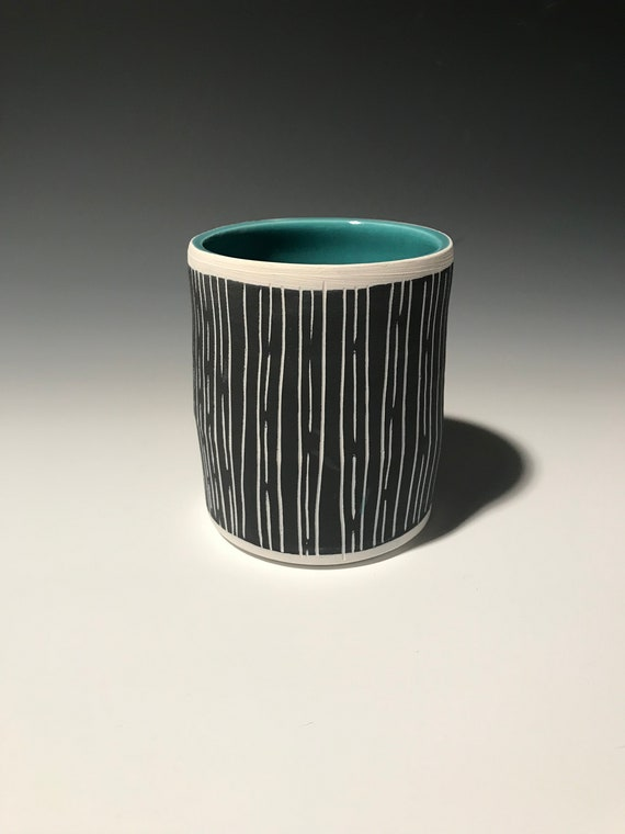 Medium Planter in Turquoise #6