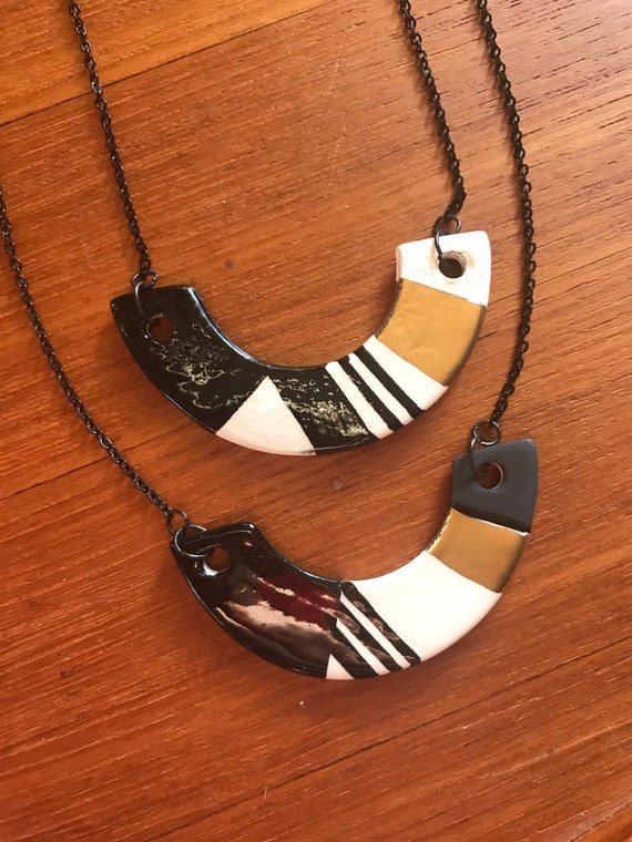 Ceramic necklace #5