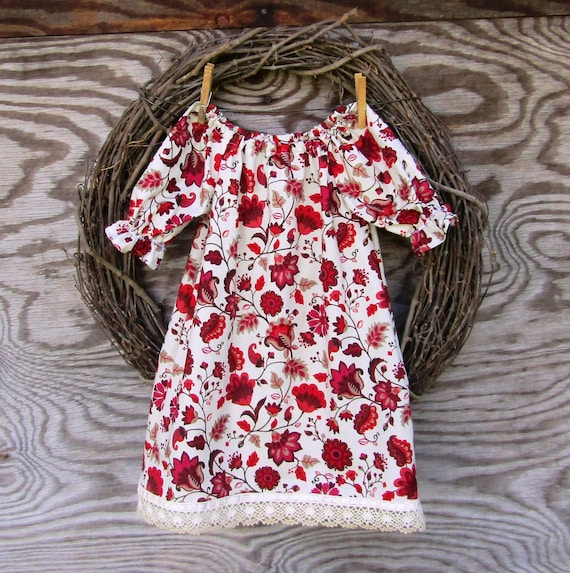 a8f5ed0b074 Girls Christmas Dress Red Holiday Dress Girls Lace Dress