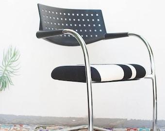 LOCAL PICKUP ONLY Vitra Visavis Cantilever Chair Pendleton
