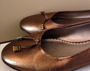 Sale ANNE KLEIN Leather Shoes/ Flats Women Genuine Leather Moccasin Size 8.5