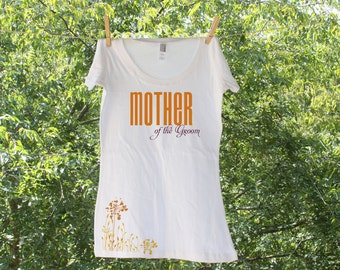 Mother of The Bride & Mother of the Groom Matching Shirts // Fall // two shirts