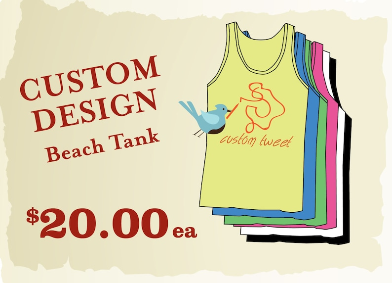c29019c21ead51 Custom Neon Beach Tanks    Personalized Bachelorette Tanks