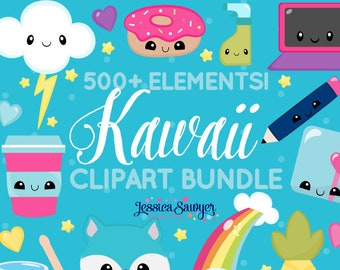 20FOR20 - Kawaii clipart mega pack for personal and commercial use