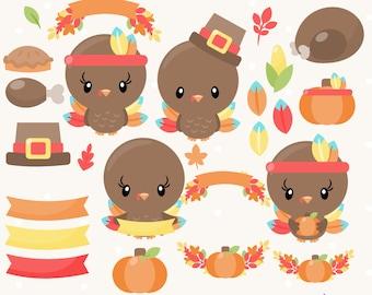 thanksgiving clipart etsy