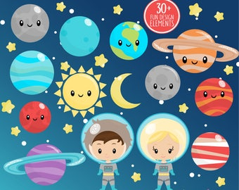 20FOR20 - Space Clipart or Astronaut Clip art