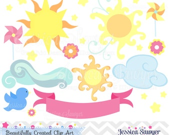 INSTANT DOWNLOAD, You are My Sunshine Clipart, vector clipart, for commercial and personal use