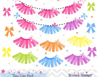 20FOR20,  tutu clipart and vectors includes bow clip art for invitations, scrapbooking, and commercial use