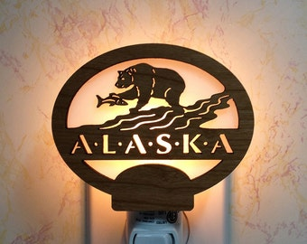 Alaska Bear Night Light