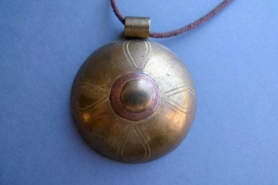 Tuareg amulet.Protection from evil eye charm