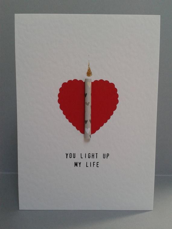 You Light Up My Life Card GC507