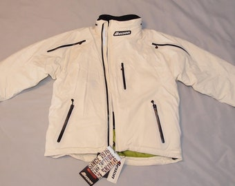 5e57efc934 NOS Vintage Anzi Besson Ski Jacket Snowboard Skiing Snowboarding Off White Winter  Jacket Laser Cut Welded Italian Technology Design XL XXL