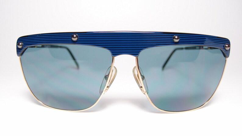 bcbe77aad8acf NOS lunettes de soleil Vintage Playboy 4675 hommes femmes bleu