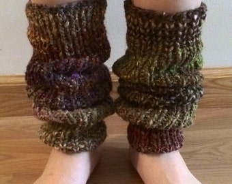 Stems (Ribbed Striped Leg Warmers)