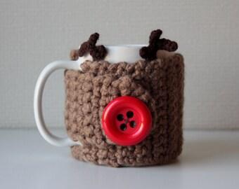 Rudolph Mug cozy
