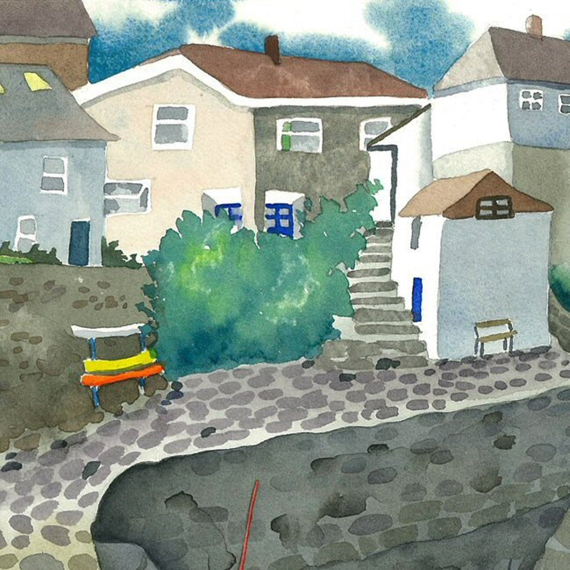 A63 Mousehole in Cornwall - Josephine Chisholm