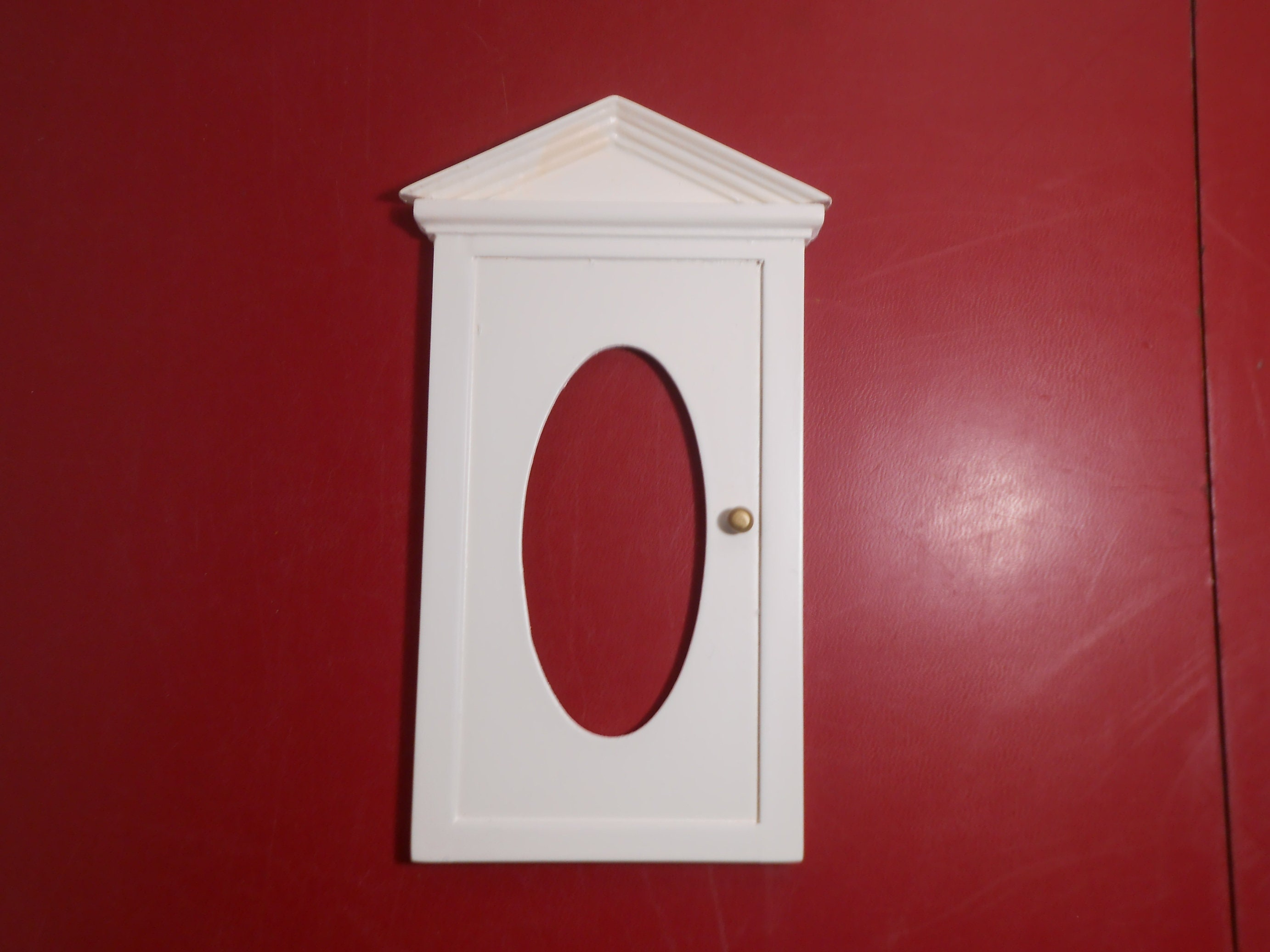 Wooden Dollhouse Door Miniature Door For Dollhouse White Etsy