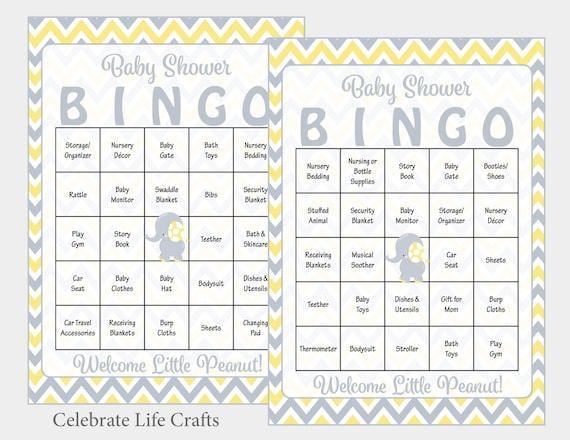 Baby Bingo Sheets