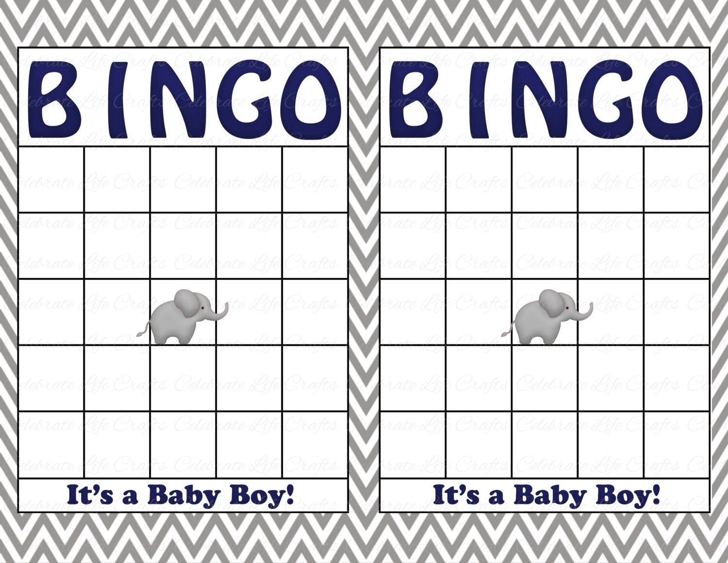 This is an image of Challenger Free Printable Baby Shower Bingo Cards Pdf
