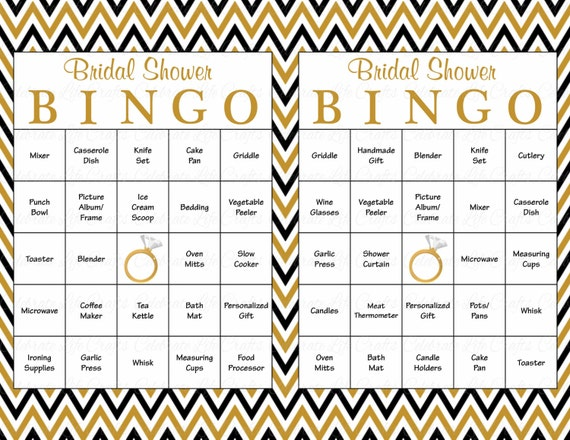 image regarding Musical Bingo Cards Printable named 60 Bridal Bingo Playing cards - Blank 60 Prefilled Playing cards