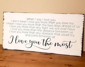 Say i love you | Etsy