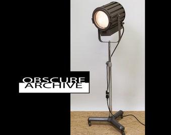 SALE Vintage KLIEGL BROS Spot Light With Stand