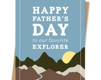 Our Favorite Explorer Father's Day Card