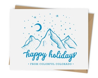 Happy Holidays from Colorful Colorado