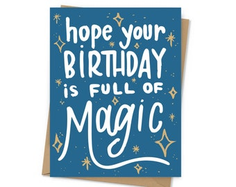 Full of Magic Birthday Card