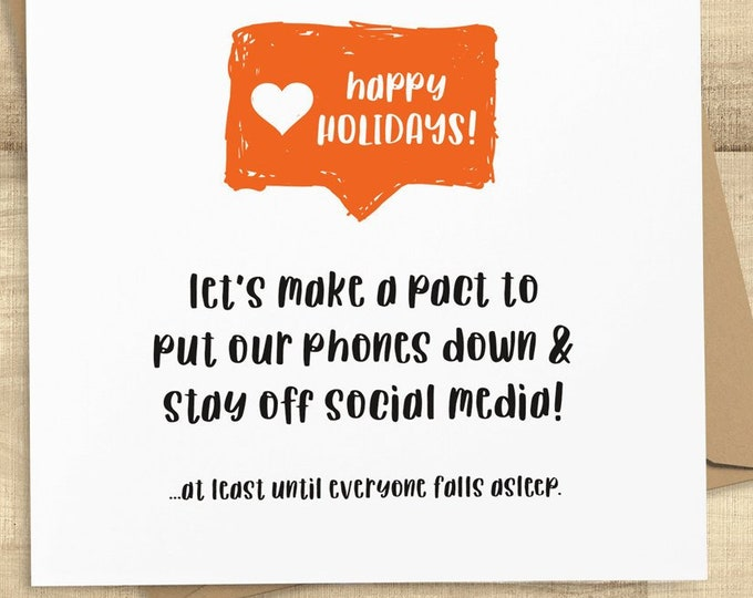 Featured listing image: Happy Holidays Instagram Like
