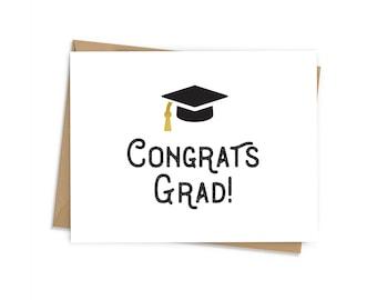 Congrats Grad Gold Tassle