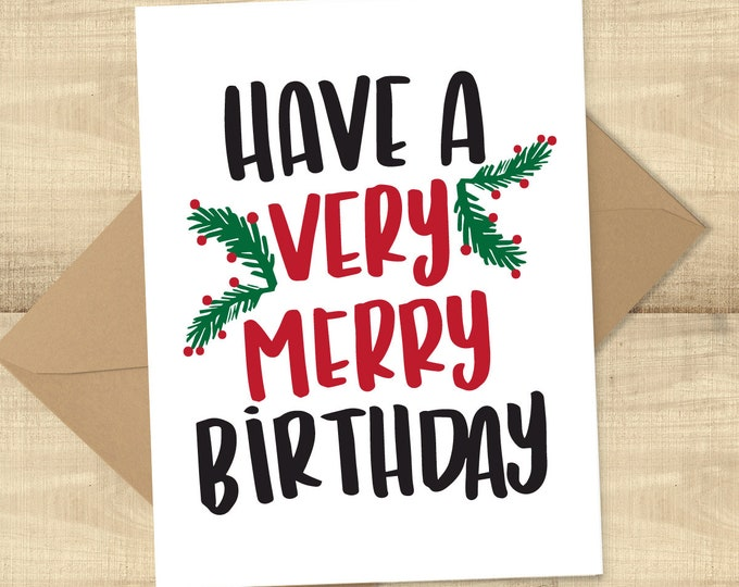 Featured listing image: Have a Very Merry Birthday