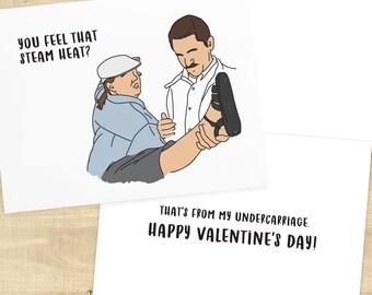 Steam Heat Valentine's Day Card