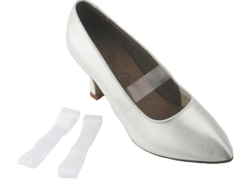 3 pairs Invisible Shoe Straps For Retaining Loose Shoes dance shoes ghost clear straps