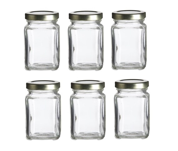 375 Oz Glass Favor Jars For Wedding Favors Baby Shower Etsy